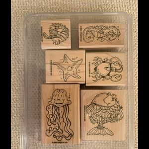 Stampin Up Fishy Friends Stamp Set
